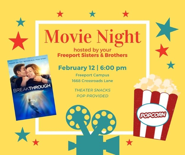 MOVIE NIGHT | hosted by Crossroads Sisters & Brothers